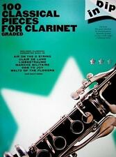 100 CLASSICAL PIECES FOR CLARINET GRADED - MUSIC SALES (COR) - NEW PAPERBACK BOO