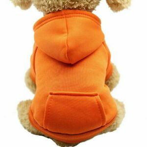 Lovely Dog Winter Apparel Pet Dog Cat Sweater Hoodie Coat Jacket Puppy Costume