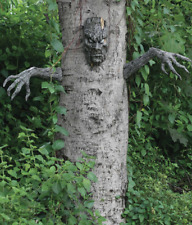 Halloween Decor Spooky Haunted Living Tree Face Outdoor Yard Garden Decoration