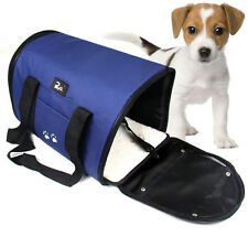 Blue 38cm Length Pet Dog Cat Puppy Portable Travel Carrier Tote Bag Kennel