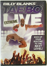 BILLY BLANKS  TAE BO  EXTREME LIVE  DVD  Widescreen CANADA Edition  Reg:1