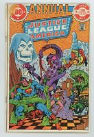 Justice League of America 1983 Annual No.1 Comic Len Wein Dick Giordano  FN
