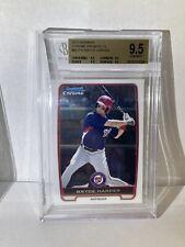 2012 Bowman Chrome Prospects Bryce Harper ROOKIE RC #BCP10 BGS 9.5 9.5X4 🔥💎