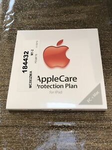 AppleCare Protection plan for Apple iPad Brand NEW Sealed Retail Pack