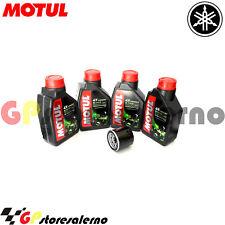 TAGLIANDO OLIO + FILTRO MOTUL 5100 10W40 YAMAHA 1000 GTS ABS 2000