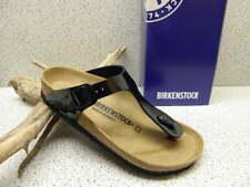"""Birkenstock ® Top Preis """"Gizeh"""" Top Mode schwarz Lack Zehensteg  (Bi47)"""