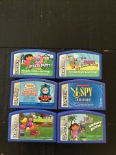 Lot Of 6 Leap Frog Leapster Cartridges Thomas Scooby Doo Backyardigans