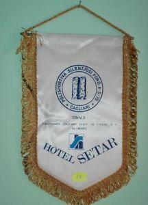 GAGLIARDETTO* CAGLIARI 1992-POLISPORTIVA SILEZIOSI-HOTEL SETAR * N.17
