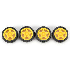 Rubber Wheel Robot Car Accessories Smart Car Tires Chassis Wheeldaf HF