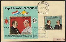 Sheet Paraguayan Stamps