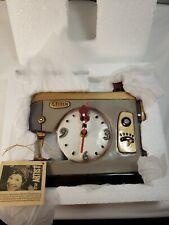 Allen Designs Stitch Sewing Machine Wall Clock