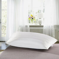 100% Cotton White Stripe Home&Hotel Standard Pillowcases Covers Bedding Nice