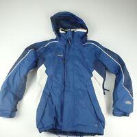 Columbia Mens S Ski Snowboard Jacket Winter Snow Vortex Blue Coat