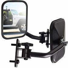 Side Mirror for Jeep Wrangler Quick Release with Adjustable Arms - Rectangular