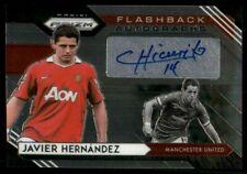 2020-21 Panini Premier League Prizm Flashback Autographs Javier Hernandez #FA-JH