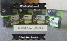 BRAND NEW 4- PACK HP GENUINE 950XL- 951XL ALL 3 COLORS  **EXP 2020**