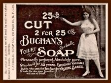 1899 C  AD  BUCHANS CARBOLIC SOAP SCANTILY CLAD WOMAN