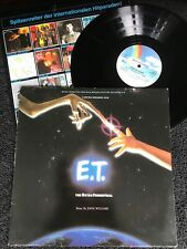 E.T. The Extra-Terrestrial (Original Movie Soundtrack) Vinyl LP MCA (1982) VG/VG