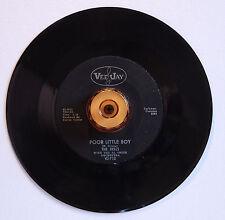 """Single 7"""" The Dells Poor Little Boy Hey Sugar VJ  REC. M-"""