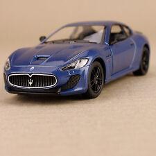 2013 Blue Maserati GT Gran Tursimo Sports Car Model 1:38 Die-Cast Pull-Back