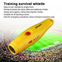 Electronic Whistle Survival Ball Game Soccer Referee Outdoor Sports  Badminton