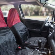 2x Universal Waterproof Car Van Nylon Pair Front Seat Cover Seat Cover Protector