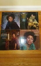 LEONTYNE PRICE 4 LP Lot. All Vinyl is Mint!