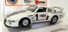 Voitures de courses miniatures Burago pour Porsche