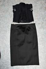 Falda para mujer magníficos KAREN MILLEN con Corsé Bustier De 2 Piezas Set Size UK 8-10