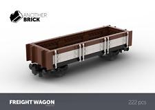 LEGO Modular Custom Build Freight Train Wagon INSTRUCTIONS ONLY!