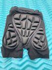 SNOW PANTS Padded Short  SOARED 3D Protection Hip Butt EVA XS Black Unisex NWT