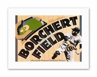 BORCHERT FIELD BALL PARK MILWAUKEE FIELD OF DREAMS BASEBALL Canvas art Prints