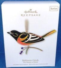 2011 Baltimore Oriole Beauty of Birds Hallmark Series Ornament