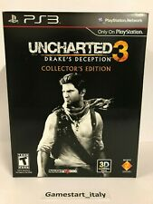 UNCHARTED 3 DRAKE'S DECEPTION COLLECTOR'S EDITION - SONY PS3 - NUOVO NEW NTSC