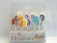 My Little Pony novità TORTA DI COMPLEANNO CANDELA CANDELE topper Figura