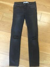 New Look Skinny Black. Rip Knees Jeans Size 8 Eur 36