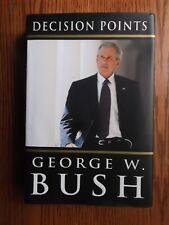 Decision Points by George W. Bush (2010, Hardcover)/signed label/President