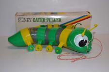 Original Vintage Slinky Cater-Puller James Industries with Box - NIB