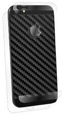 BodyGuardz iPhone 5 5s SE Armor Carbon Fiber Screen Protector Full Body Black