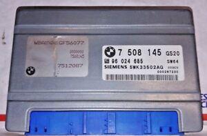 2001 01 BMW 530I TCU TRANSMISSION COMPUTER UNIT TCU TCM GM 7508145 01-03