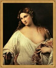 Flora Tizian Tizano Vecellio Junge Frau Frisur Sehnsucht Liebe LW H A2 0271