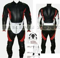 BLACK ENERGY HUMP MENS CE ARMOUR MOTORBIKE / MOTORCYCLE LEATHER JACKET & SUIT
