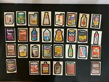 1973 Topps Wacky Packages 1st Series 1 Complete Sticker White Card Set 30/30 EX