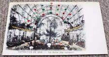 Paris Exposition Universelle 1900 World Fair Glitter & Spangles Postcard