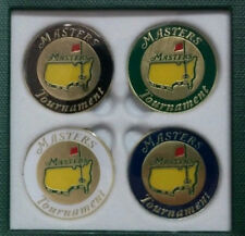 The Masters 2018 Ball Marker 4 Pack Variety of Colors - Great Gift