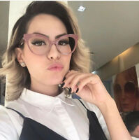 Fashion Brand Cat Eye Glasses Women Plain Clear Lens Eyeglasses Retro Eyewear RX