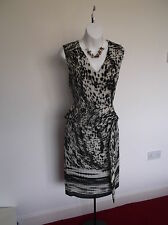 New with Tag Per Una M&S. Super Lined Slimline Dress 10  Holiday/Party/Cruise ?