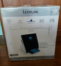 New Lexmark Genesis S815 Wireless All-In-One Inkjet Printer FlashScan open box