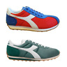 Diadora Sirio Green or Red Mens Trainers RRP £50 now £26.99 Most Sizes~Clearance