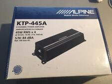 ALPINE KTP-445A Power Pack 4-Channel Car Amplifier